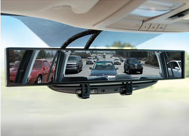 The No-Blind-Spot Rear View Mirror