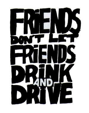 Poster to prevent drinking and driving courtesy of MADD and The Ad Council