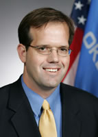 Oklahoma state Senator Patrick Anderson, photo courtesy Oklahoma State Legislature