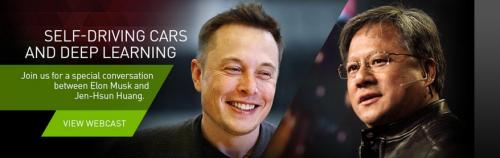 Elon Musk and Jen-Hsun Huang