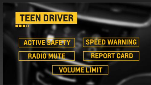 Teen Driver screen shot from GM video