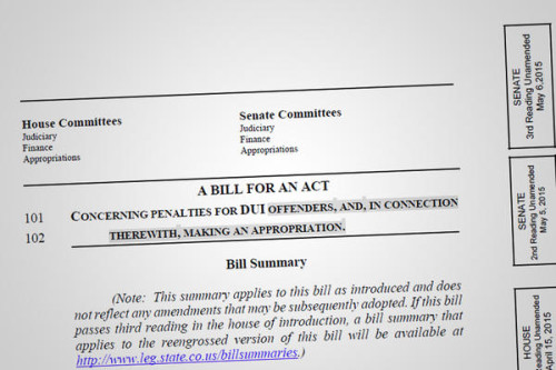 Cover of House Bill 1043