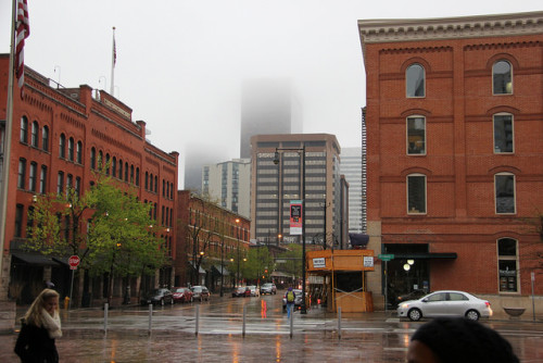 Rainy Day in Denver
