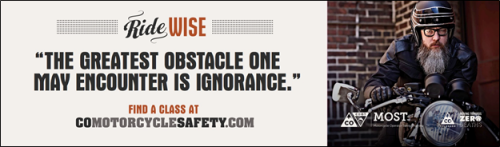 From CDOT's Ride Wise campaign