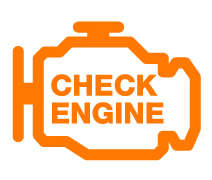 Check Engine Light illustration from Colorado.gov