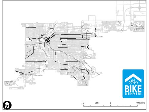 BikeDenver map