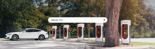 Tesla Supercharging Station, courtesy Tesla Motors