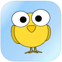 NORML's Canary logo, a  yellow cartoon bird