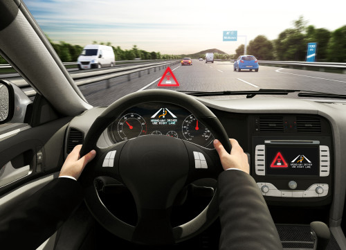 Bosch's wrong-way-driving warning system