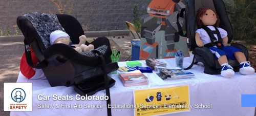Cars Seats Colorado and Child Passenger Safety Week
