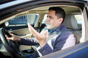 Aggressive driving is also called road rage.