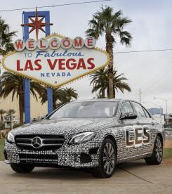 Autonomous car Las Vegas.