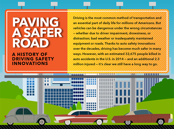 Paving a Safer Road Infographic