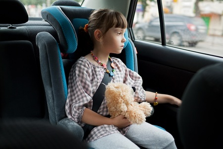 danger to children behind occupied front seat