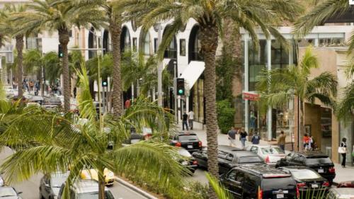 Beverly Hills traffic