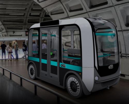 3D-printed autonomous minibus
