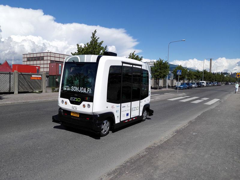 Helsinki autonomous bus