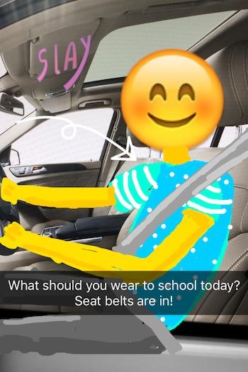 CDOT Snapchat campaign