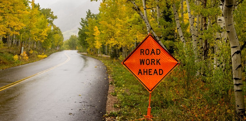 Preventing Car Accidents During Roadway Construction in Colorado