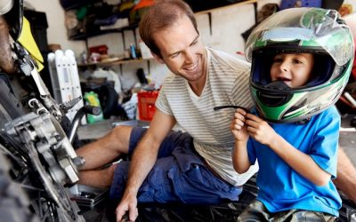 Tips for Riding Motorcycles With Child Passengers