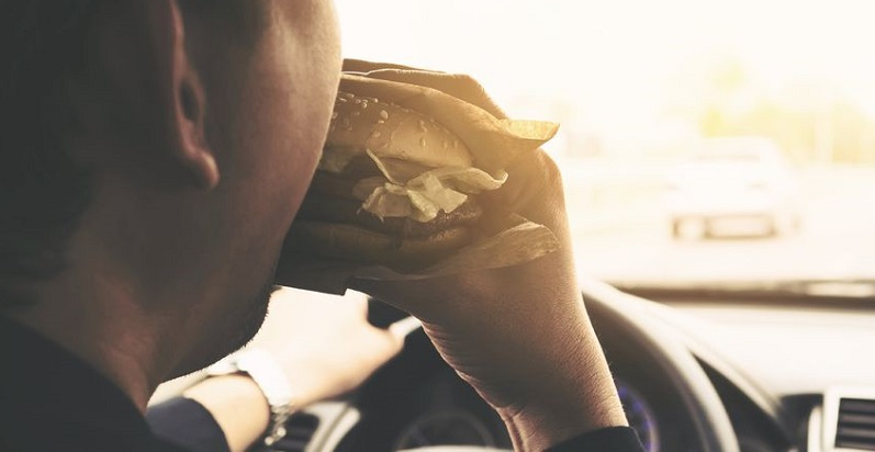 Eating Is a Common Distraction for Motorists and Leads to Colorado Auto Accidents