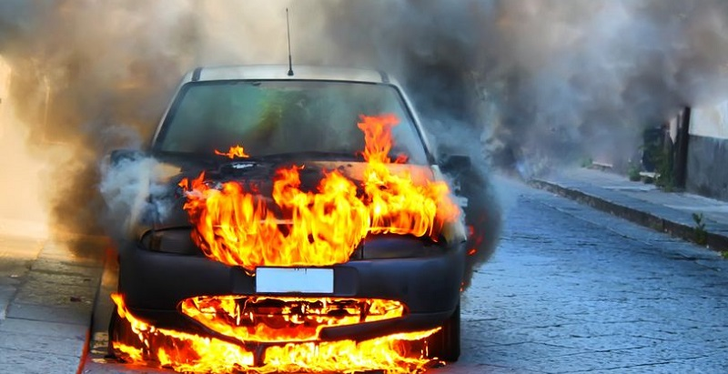 Vehicle Fires Not Caused by Auto Accidents
